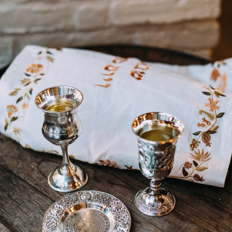 Wedding Kiddush Cup